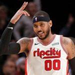 NBA – Carmelo Anthony dépasse 2 légendes en un match !
