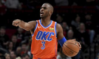Chris Paul sous le maillot du Thunder