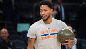 NBA – Le geste génial de Derrick Rose aux Knicks dès son arrivée