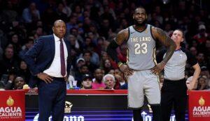 NBA – Le petit tacle de Doc Rivers envers LeBron et les Lakers