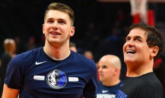 Luka Doncic et Mark Cuban