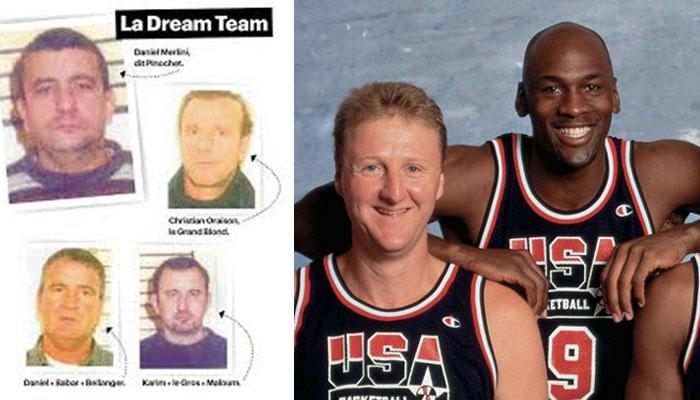 Dream Team NBA gang france