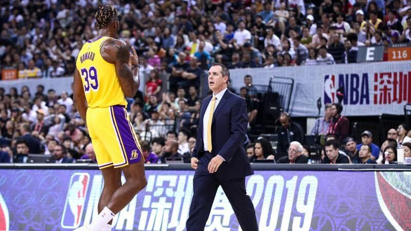 NBA - Frank Vogel recadre Dwight Howard avec humour après son 3 points