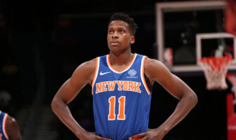 NBA - Frank Ntilikina révèle sa discussion avec J-Cole