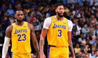 LeBron et Davis égalent accomplissement Kobe et Shaq