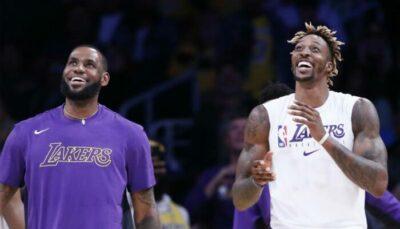NBA – A peine de retour aux Lakers, Dwight Howard affiche déjà LeBron !