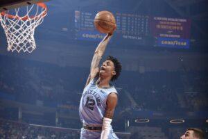 NBA – Kevin Love réagit à l'énorme tentative de Ja Morant sur sa tête