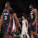 NBA – Le joueur qui risque d'être tradé des Knicks