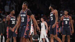 NBA – La stat unique dans l'histoire réussie par un joueur des Knicks