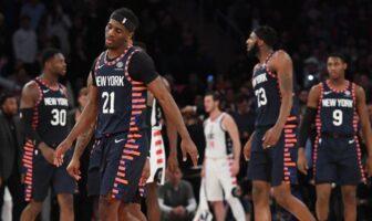 Plusieurs joueurs des Knicks veulent partir prochainement