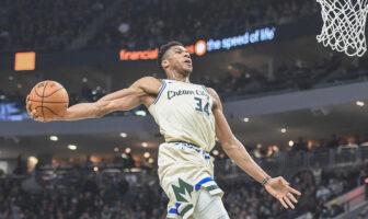 NBA - L'incroyable statistique sur Giannis Antetokounmpo