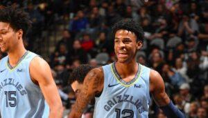 NBA – Ja Morant rejoint un prestigieux club all-time