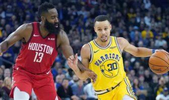 Les mots touchants de Harden pour Curry et Thompson