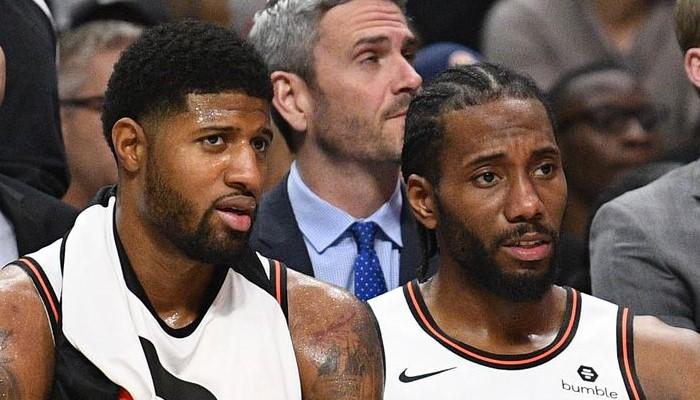 Kawhi et Paul George prennent feu et réalisent une première chez les Clippers