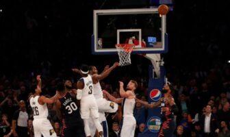 Les Knicks perdent à l'ultime seconde