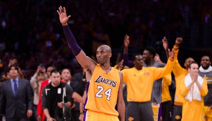 dernier match de Kobe