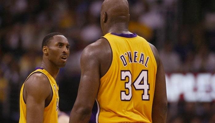regard de Kobe envers Shaq