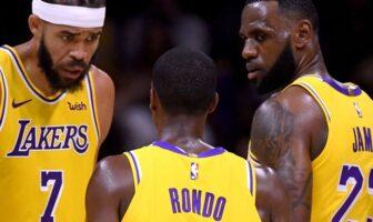 Les Lakers auteurs d'une série porte-bonheur
