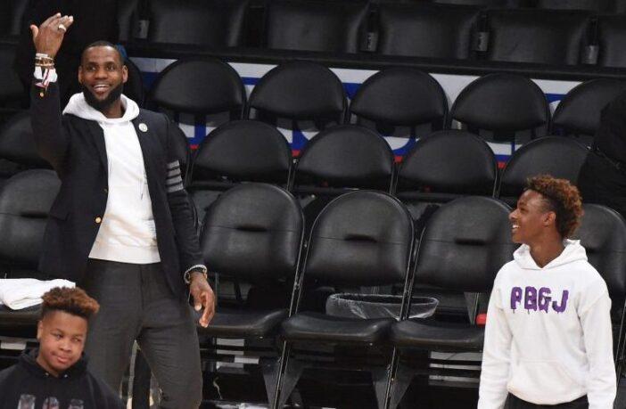 LeBron James et Bronny James