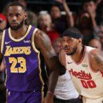 NBA – LeBron revient sur l'échec de la venue de Melo aux Lakers