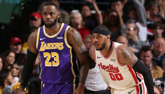 LeBron évoque le retour de Carmelo Anthony