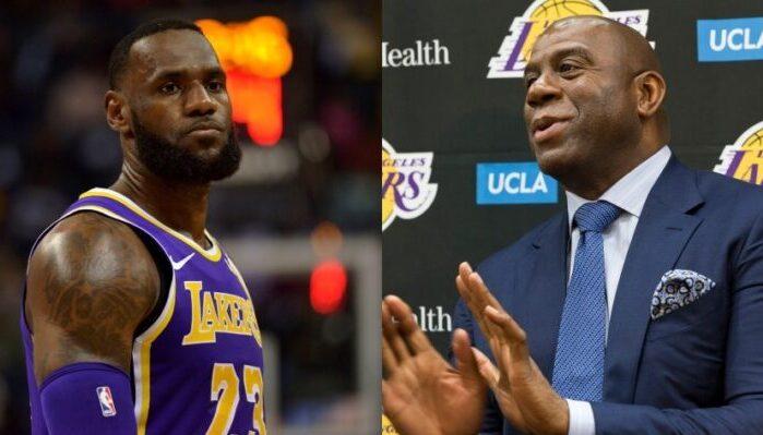 Magic Johnson et LeBron James
