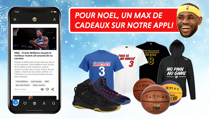 Application NBA cadeaux