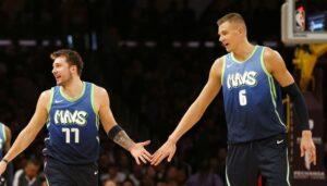NBA – Le boss des Mavs confirme des différends entre Luka et Porzingis