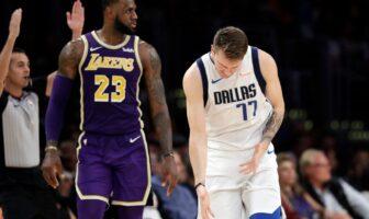 NBA - Luka Doncic rejoint le seul LeBron James dans l'histoire