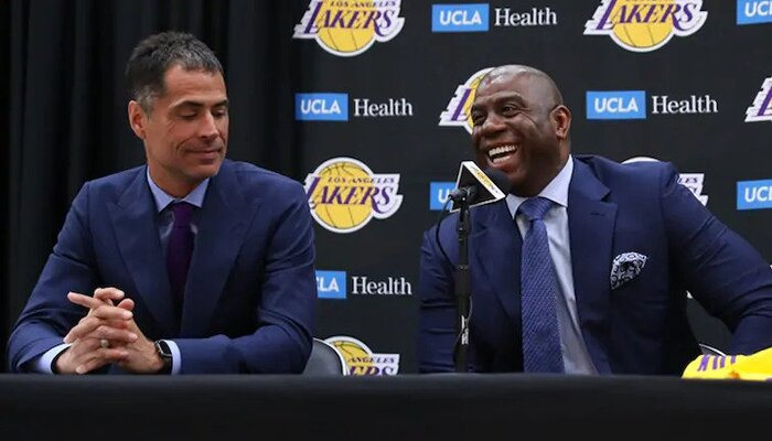 Magic Johnson veut s'accaparer le succès des Lakers