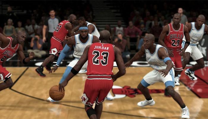 Michael Jordan vs 15 meilleurs joueurs all-time