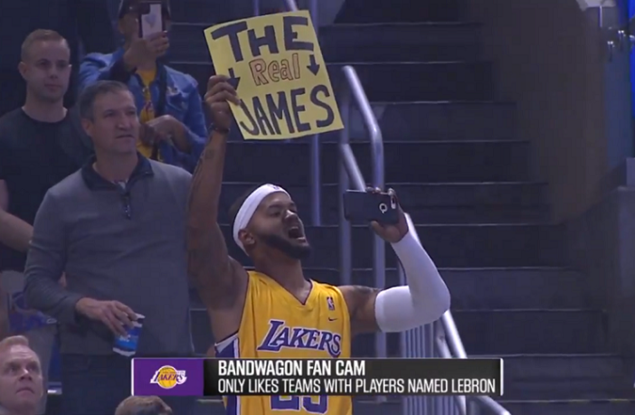 Magic troll sauvagement fans lakers