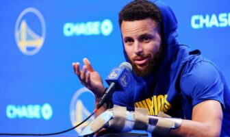 Stephen Curry optimiste concernant les Warriors malgré sa blessure