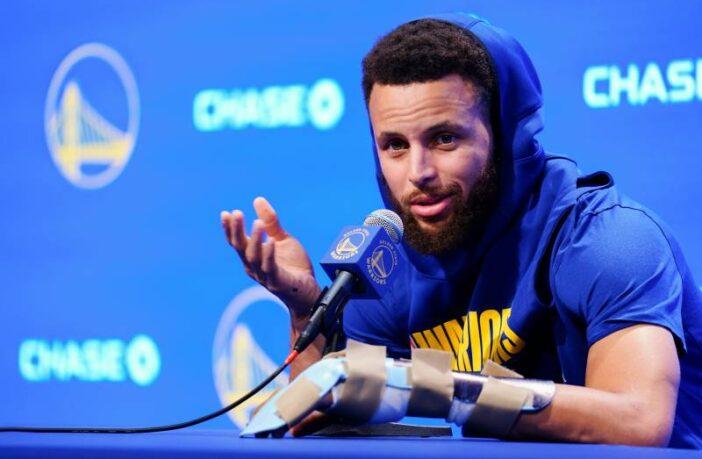 Stephen Curry optimiste concernant les Warriors malgré sa blessure