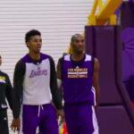 NBA – La cible de la célèbre gueulante de Kobe à l'entraînement des Lakers révélée