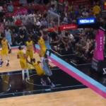 NBA – JaVale McGee postérisé par le rookie Kendrick Nunn !