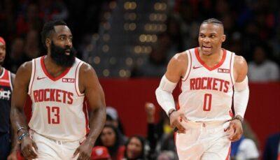 NBA – «Russell Westbrook ne veut plus jouer avec James Harden, et inversement !»
