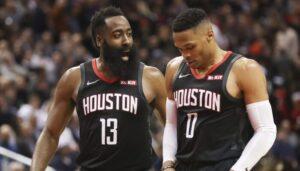 NBA – Le point tout frais de Woj sur les dossiers Harden et Westbrook