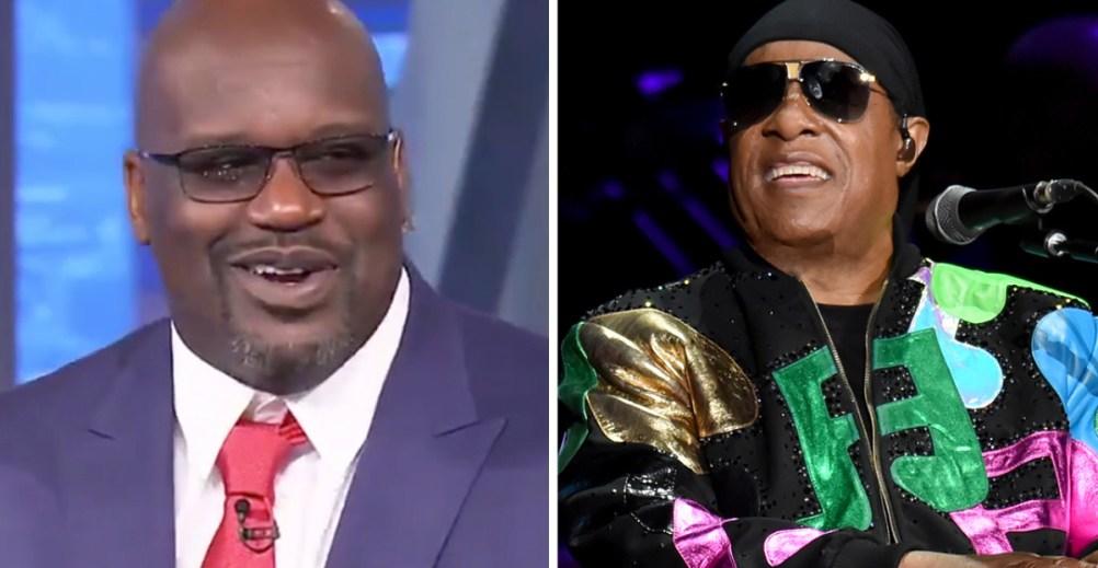 Shaquille O'Neal pense voir clair dans le jeu de Stevie Wonder