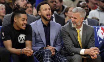Ce qui différencie Curry des autres stars d'après un Warrior