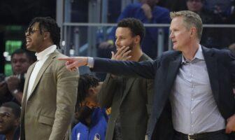 NBA - Steve Kerr donne un challenge à ses joueurs