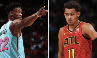 Jimmy Butler trolle Trae Young