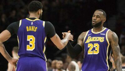 NBA – LeBron révèle comment il a changé son jeu en l'absence de Davis