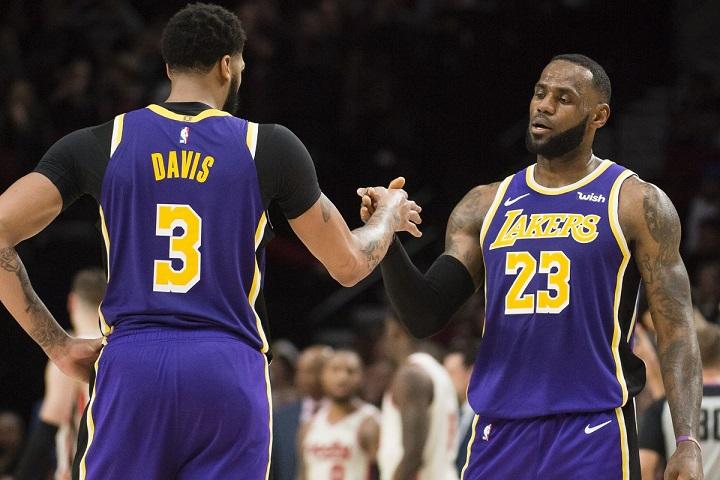 Lakers titiller meilleurs bilans histoire ? réponse LeBron