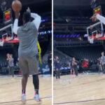 NBA – Zion Williamson en mode gâchette !
