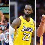 NBA – LeBron rejoint Kobe et Bird dans un club à 3
