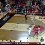 NCAA/NBA – 3 points miraculeux au buzzer… contre l'ex-fac de Steph Curry !