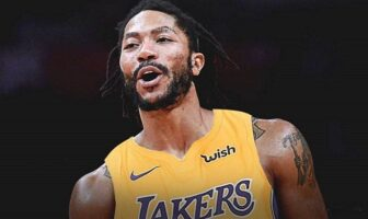 Derrick Rose maillot Lakers