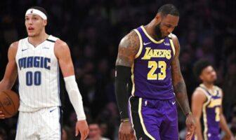 LeBron James proche career-high à la passe, mauvaise première pour Lakers