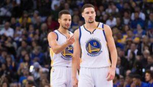 NBA – L'hommage de Stephen Curry à Klay Thompson